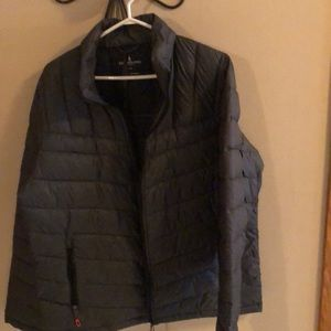 Quilted light weight packable jacket